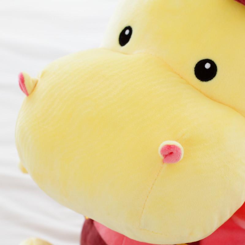 安吉宝贝 可爱河马moomin公仔毛绒玩具 儿童布娃娃马玩偶 情侣情人节