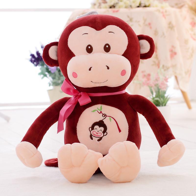 安吉宝贝 可爱悠嘻猴毛绒玩具布娃娃玩偶公仔 创意情人节生日礼品送