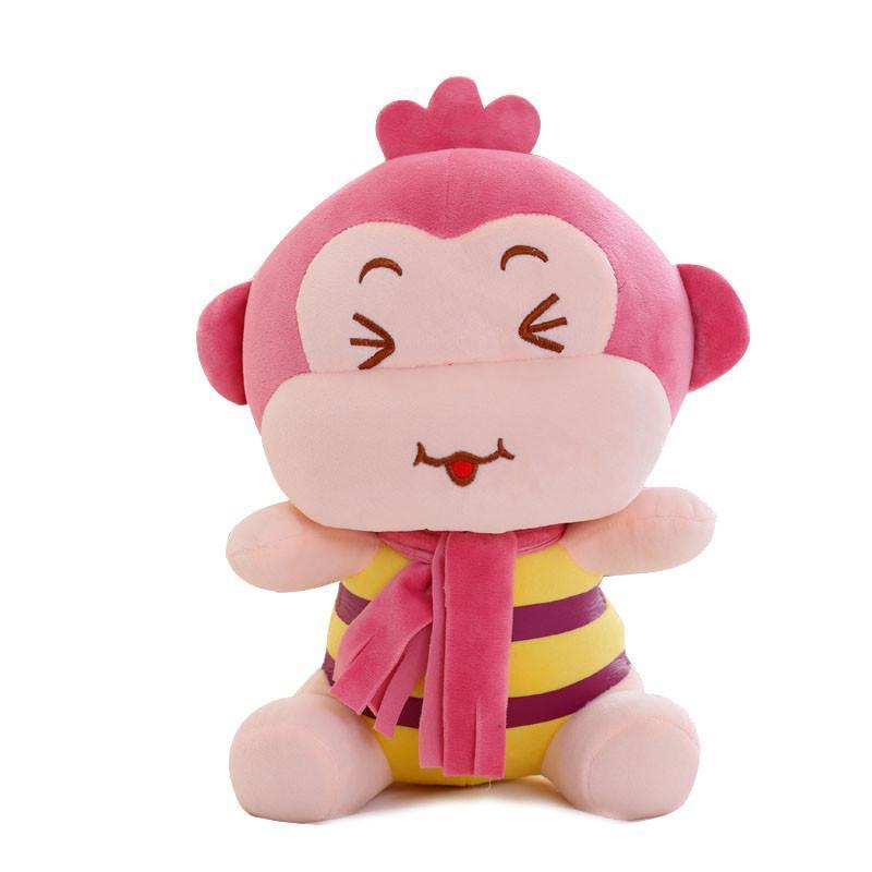 安吉宝贝可爱嘻哈猴公仔小猴子毛绒玩具 悠嘻猴布娃娃