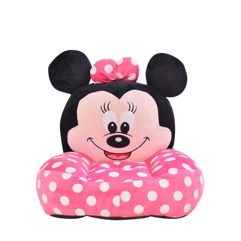 安吉宝贝可爱大白米奇卡通懒人沙发榻榻米毛绒玩具 幼儿玩偶 儿童生日