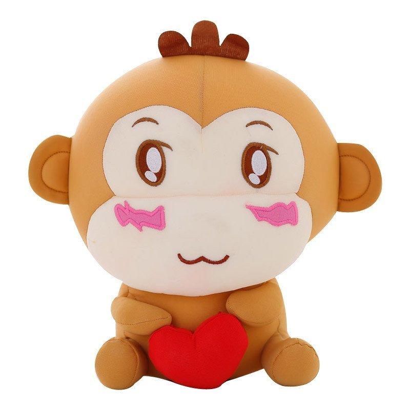 安吉宝贝可爱嘻哈猴毛绒玩具公仔软体泡沫粒子玩偶 猴