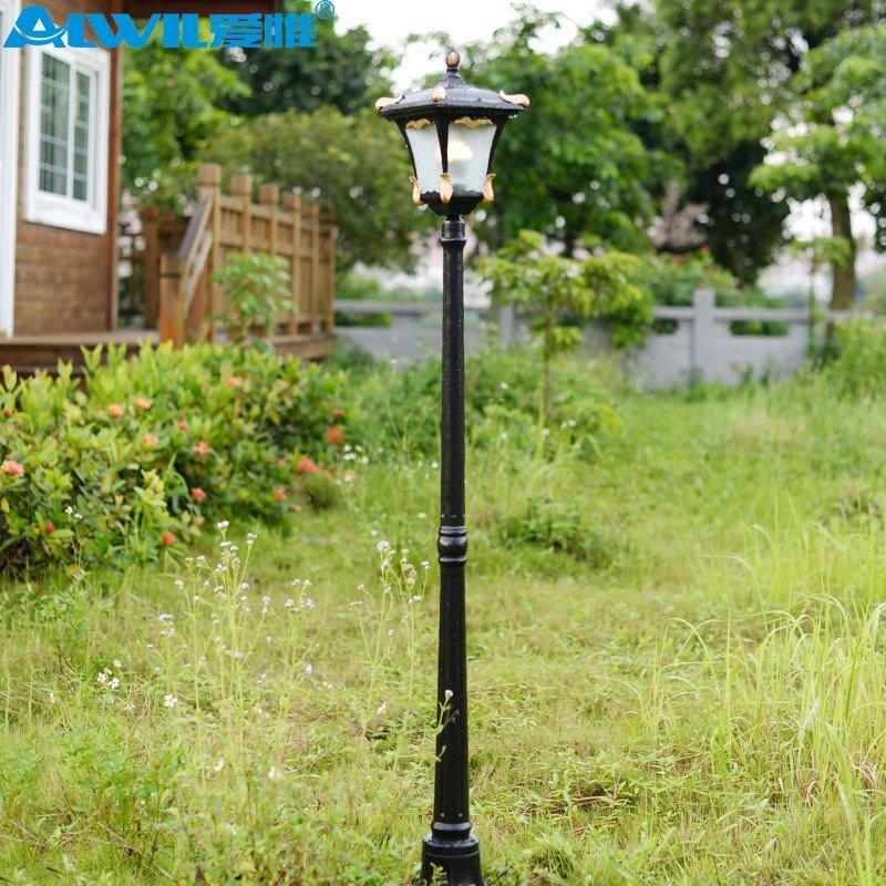 爱惟欧式户外景观庭院灯具led别墅草坪灯道路灯室外花园灯饰7137