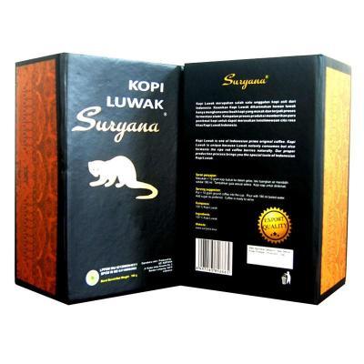 印尼原裝Suryana/蘇雅咖 Kopi Luwak阿拉比卡麝香貓屎咖啡豆 200g