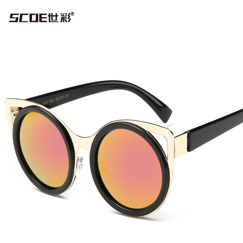 soce 儿童太阳镜眼镜偏光镜可爱眼镜小朋友眼镜男女通用户外眼镜复古