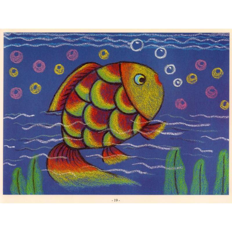 童画时光 砂纸画课堂提高篇 小小美术创意家 儿童美术培训教材 幼儿园图片