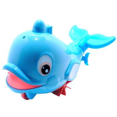 泓智 噴水小海豚 嬰兒戲水玩具 洗澡玩具