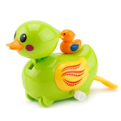 匯樂游樂小鴨子 戲水玩具 嬰兒洗澡玩具鴨 發條玩具 玩具鴨