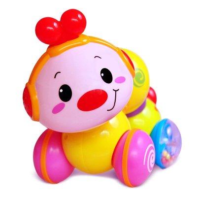 匯樂 爬行小蟲 音樂燈光玩具 學爬行玩具 學步玩具