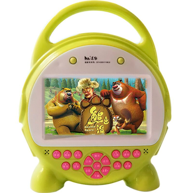 8g玩具可充电下载厂家机全家多功故事机玩具5寸触摸屏绿色价格内存蛇的v玩具娃娃图片