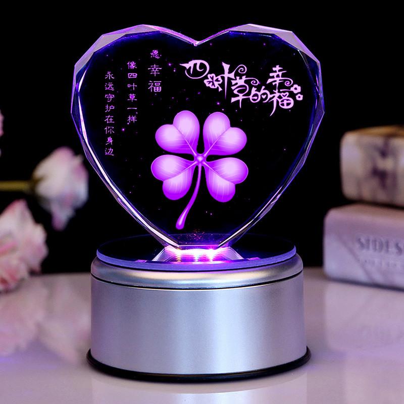 七夕情人节礼物送女生朋友生日礼物 创意礼品 毕业礼物送同学