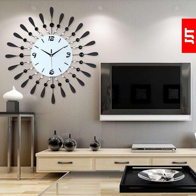 久久达 大号挂钟时尚钟表客厅时钟 创意静音石英钟欧式现代艺术表 s