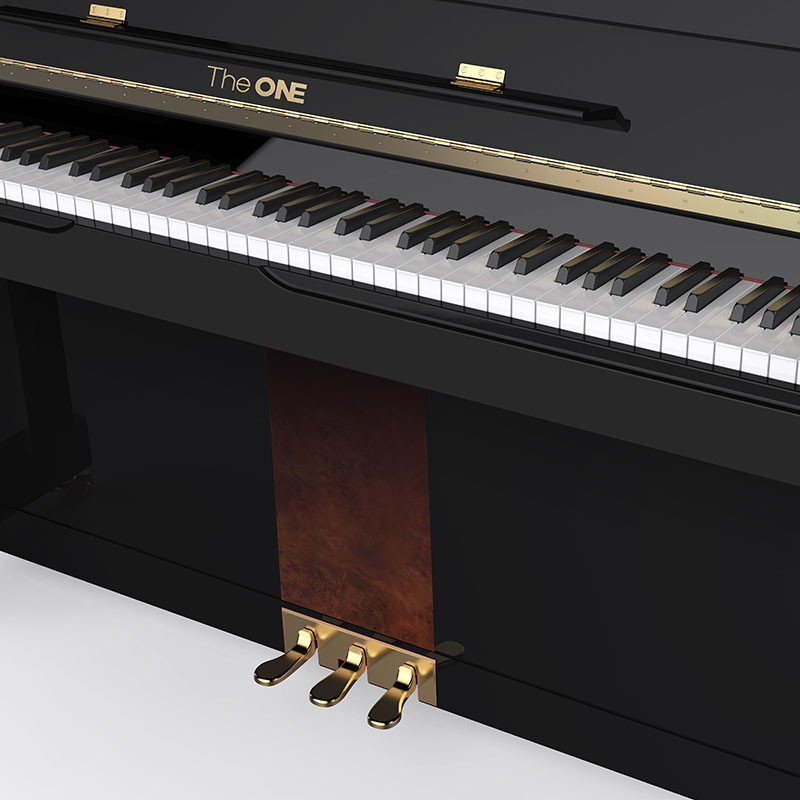 the one 壹枱 智能原声钢琴 立式钢琴 tap