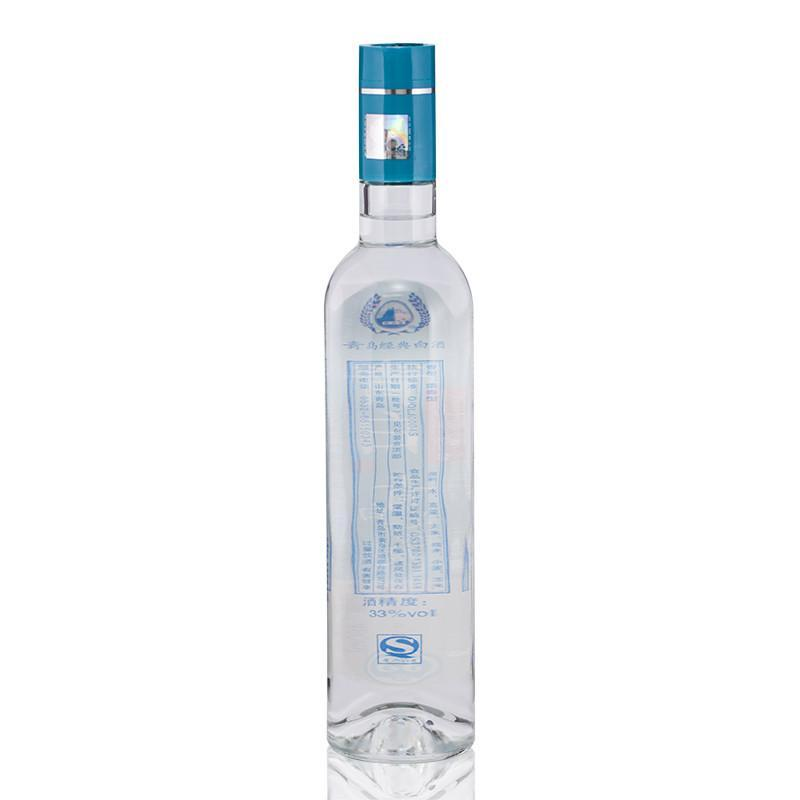 青岛琅琊台白酒 33度 青白 浓香型 低度白酒 480ml*6整箱