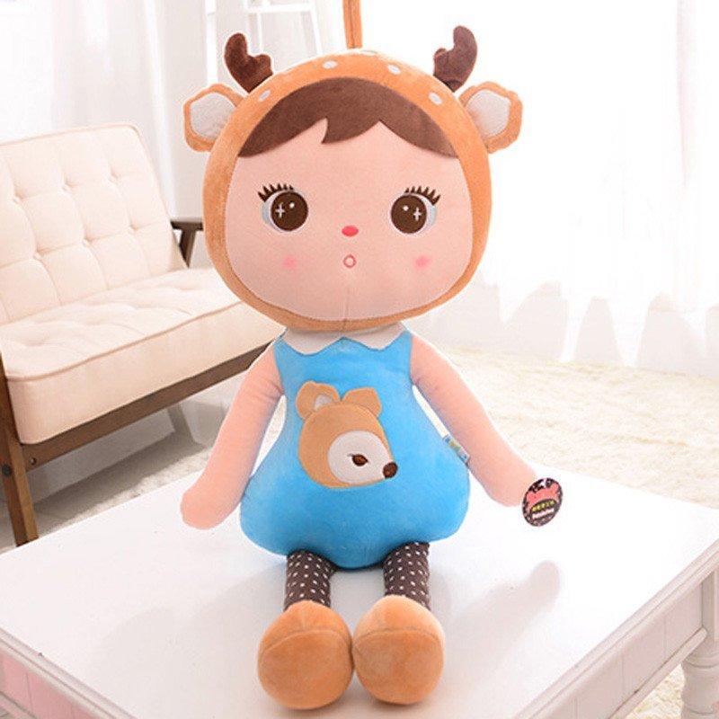 毛绒玩具可爱吉宝公仔布娃娃女孩玩偶儿童玩具生日礼物小鹿娃娃65cm f