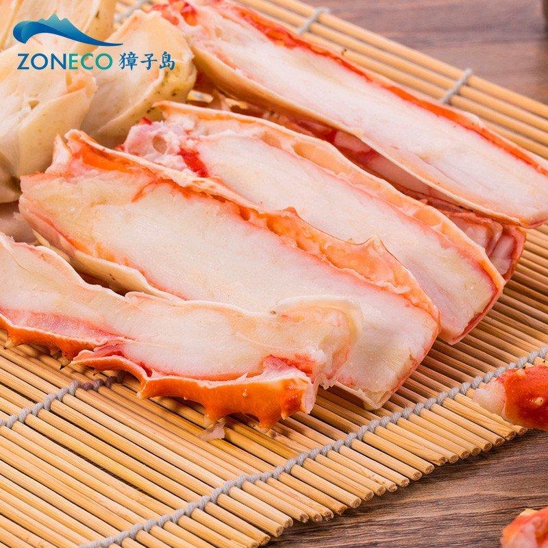 你们知道10斤的帝王蟹去掉壳后有多少分量吗?估计一人吃不饱