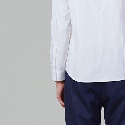 lilbetter休闲衬衫 男长袖牛津纺动物印花衬衣韩版修身款男士衬衫 165
