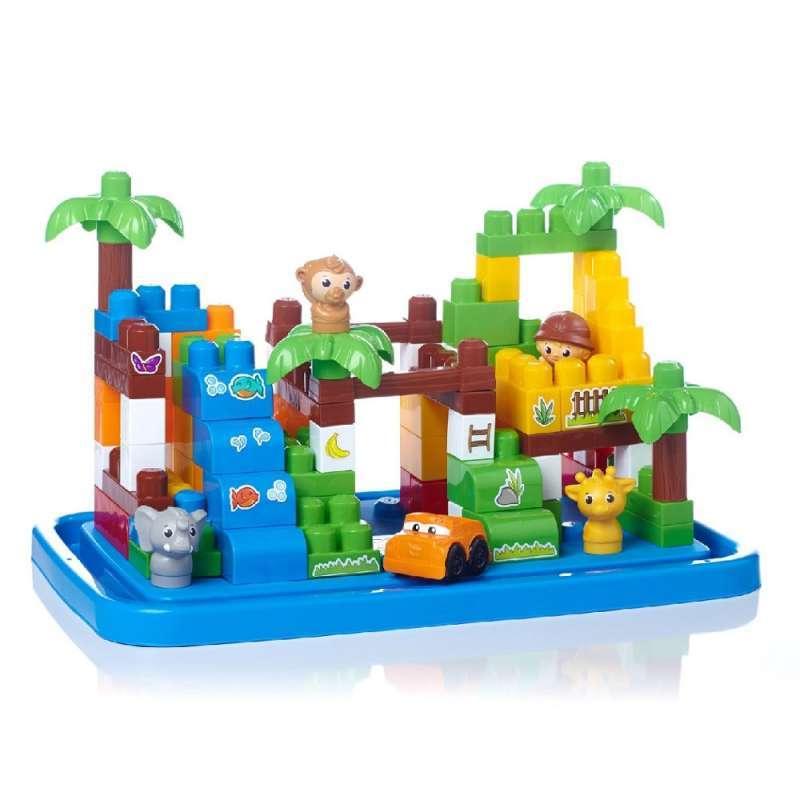 bloks 拼装积木玩具 初级拼砌系列 农场动物.