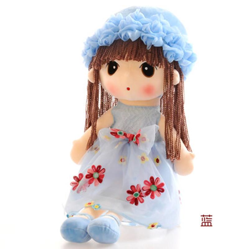mgobu玩花仙子菲儿公主布娃娃可爱小女孩公仔毛绒玩具