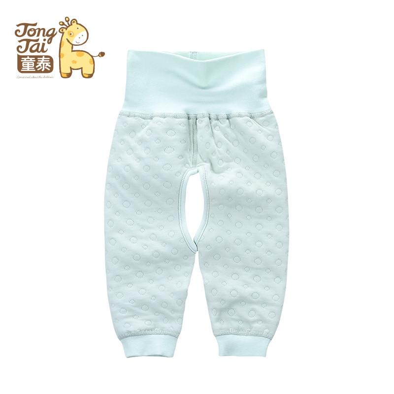 童泰婴儿秋季新款婴儿保暖裤子宝宝加厚婴幼儿单件下衣1-12个月