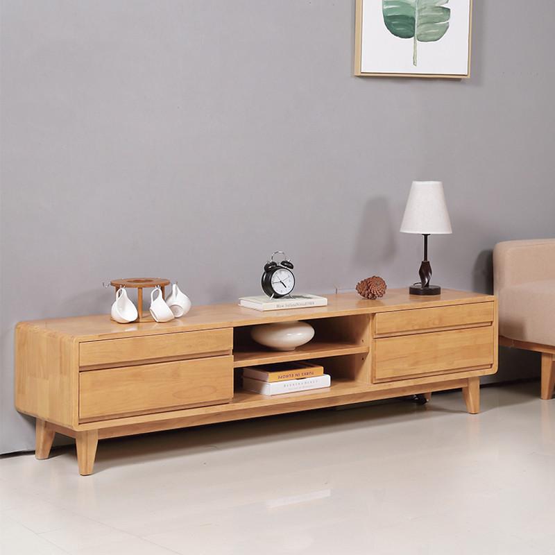 厚皮匠 北欧简约电视柜 客厅小户型实木日式地柜组合