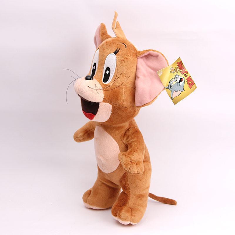 宝诚达 新品可爱汤姆猫杰瑞鼠毛绒玩具公仔猫布娃娃儿童礼物 站姿鼠