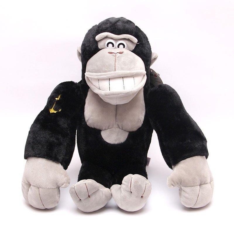 宝诚达 可爱仿真大猩猩毛绒玩具金刚猴公仔玩偶猴年吉祥物抱枕送男生