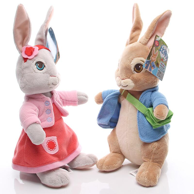 可爱比得兔毛绒玩具公仔彼得兔玩偶娃娃儿童节日礼物