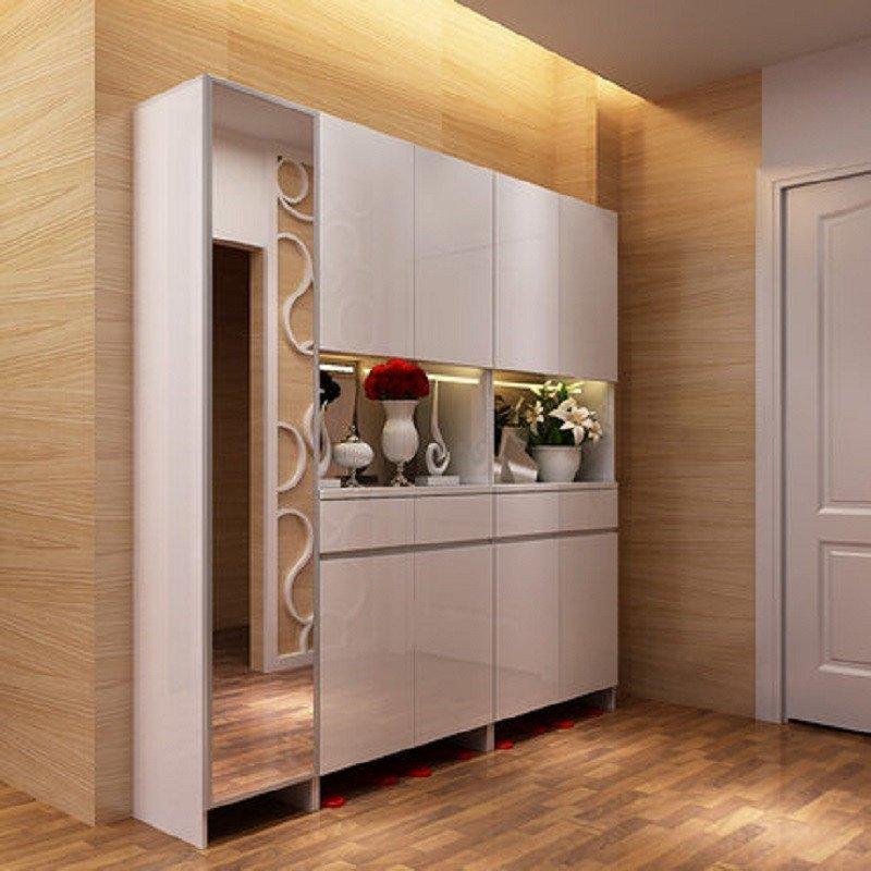 一米愛 現代簡約門廳柜 客廳儲物玄關隔斷柜 進門鞋柜