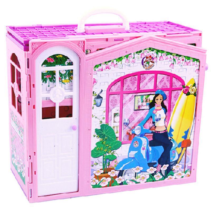 芭比娃娃房子別墅套裝禮盒