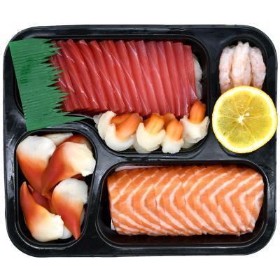 怡鮮來 新鮮生魚片刺身拼盤500g 進口冰鮮三文魚刺身中段金槍魚刺身套餐