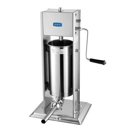 锦厨乐3升立式手动不锈钢家用灌肠灌香肠机 商用手摇式灌腊肠机灌肠机