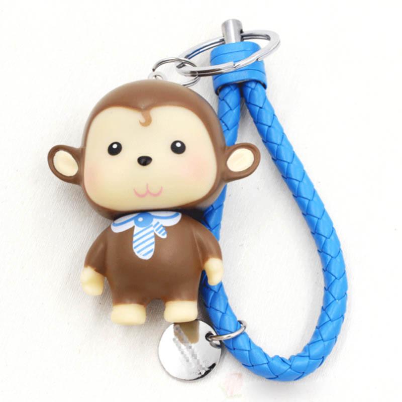 绎美 创意礼品钥匙链 可爱调皮猴钥匙链 逗趣钥匙环钥匙扣生日礼物