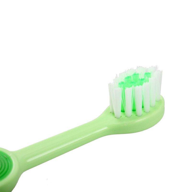 小树苗快乐成长儿童牙刷婴儿牙刷 (2-4岁)_粉色tb000110