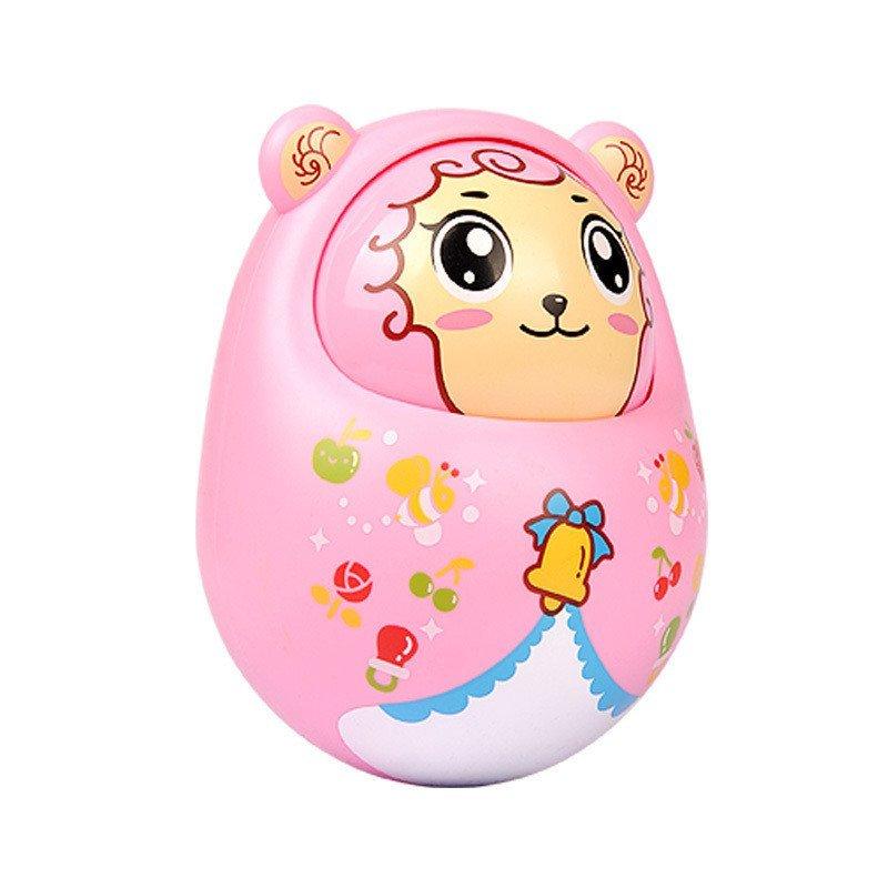 春天宝宝儿童玩具动物点头q萌不倒翁婴儿玩具 美羊羊ct-7001d