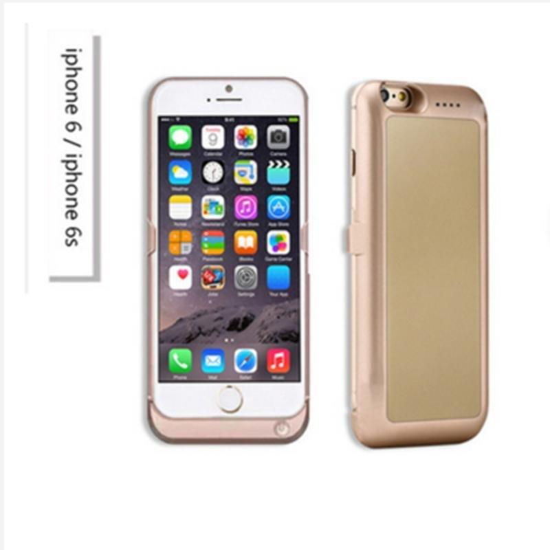 移动电源背夹适用苹果iphone6/6s双卡双待可打电话的手机壳 苹果6/6s
