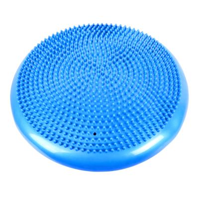 蒙拓嘉瑜伽平衡墊按摩坐墊軟墊 加厚防爆平衡訓練球兒童平衡盤康復訓練氣墊