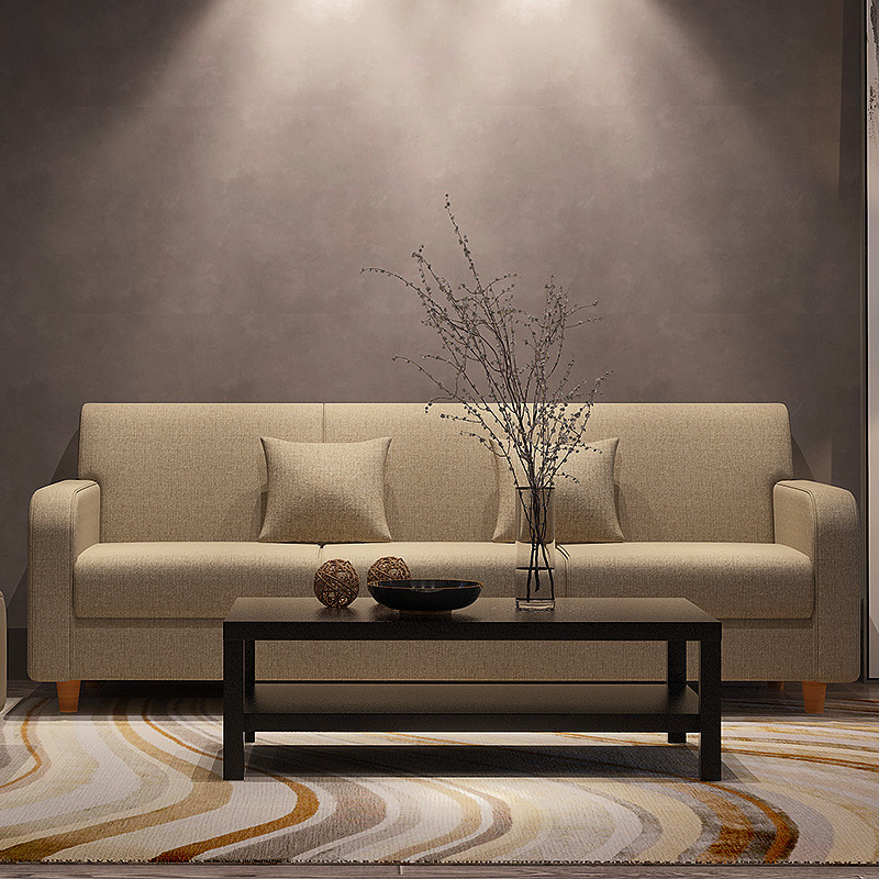 爱尚 小户型沙发 布艺沙发 三人 双人沙发 客厅沙发 组合沙发 日式