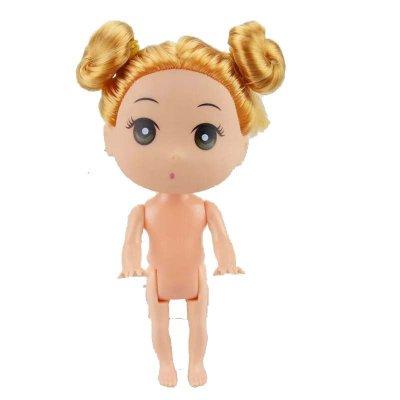 芭比娃娃迷糊娃娃12cm泡泡浴裸娃烘焙甜品台生日礼物儿童女孩玩具赠品