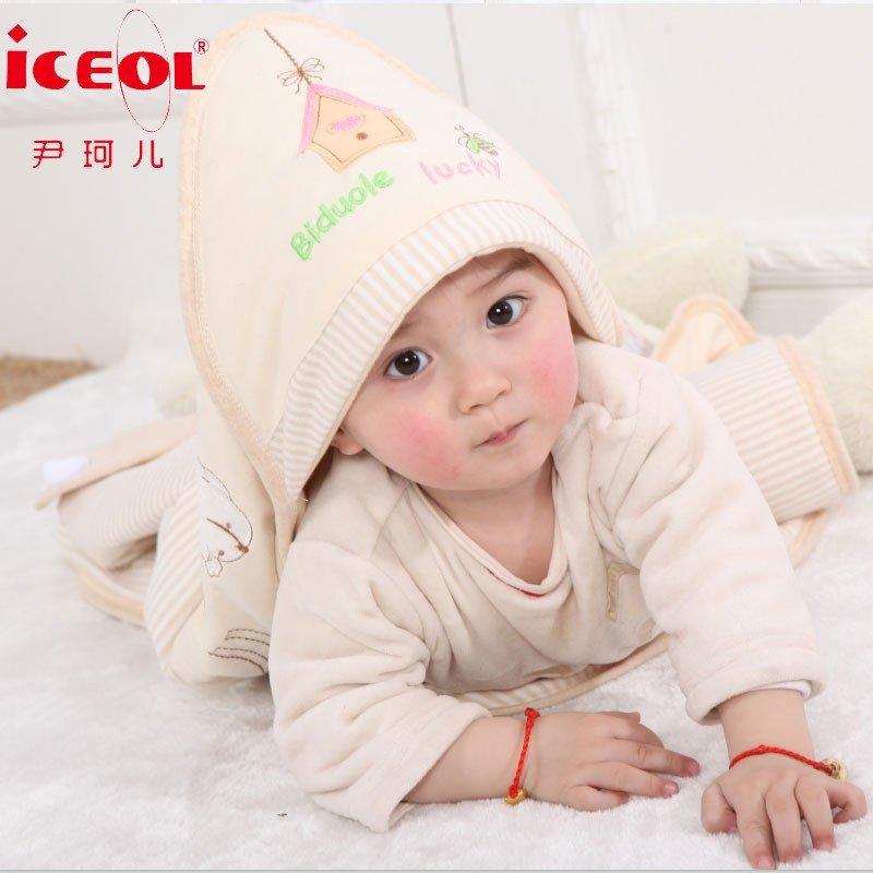 婴儿抱被纯棉春夏薄款新生儿包被春秋彩棉抱毯宝宝睡袋新生儿用品襁褓