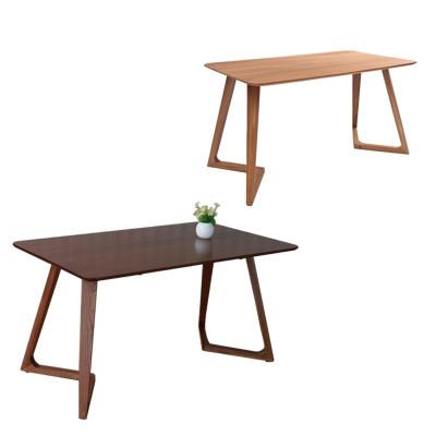组合创意异型脚餐桌餐厅家具小户型长方形纯实木餐桌