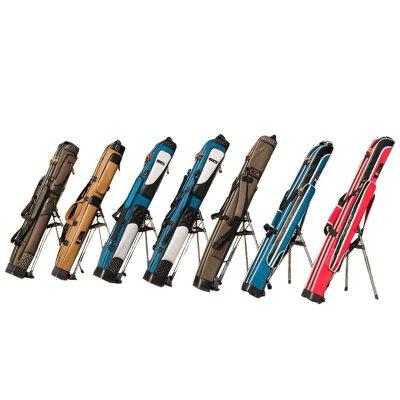 刀客直筒伞包1.25米防水长节定型鱼竿包双层渔具包钓鱼包带支架渔具