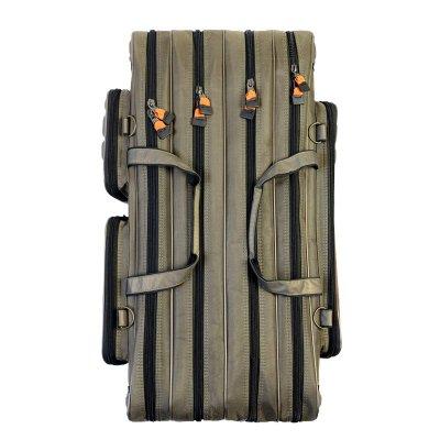 刀客漁具包1.2米3層雙肩包90 80cm魚竿包四層防水釣魚包桿包魚包