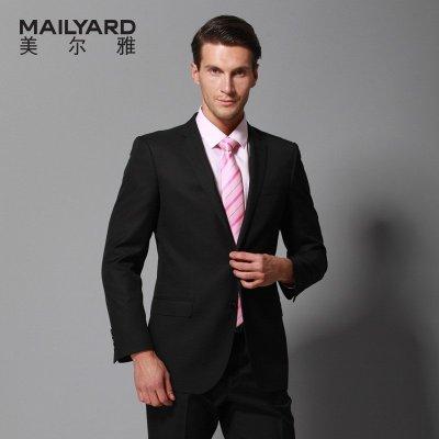 美尔雅(MAILYARD)西服套装男 羊毛商务休闲男士西服 男式西装礼服 正装 281
