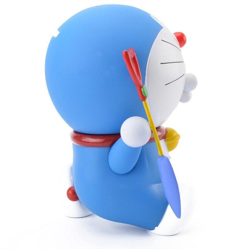 机器猫哆啦a梦手办叮当猫公仔纪念q版玩偶摆件玩具 双