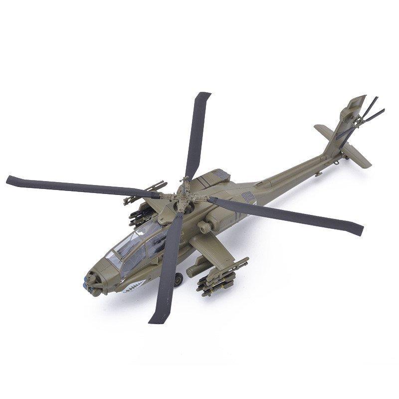 歼10战斗直升飞机军事仿真模型1:72美军大黄蜂战机