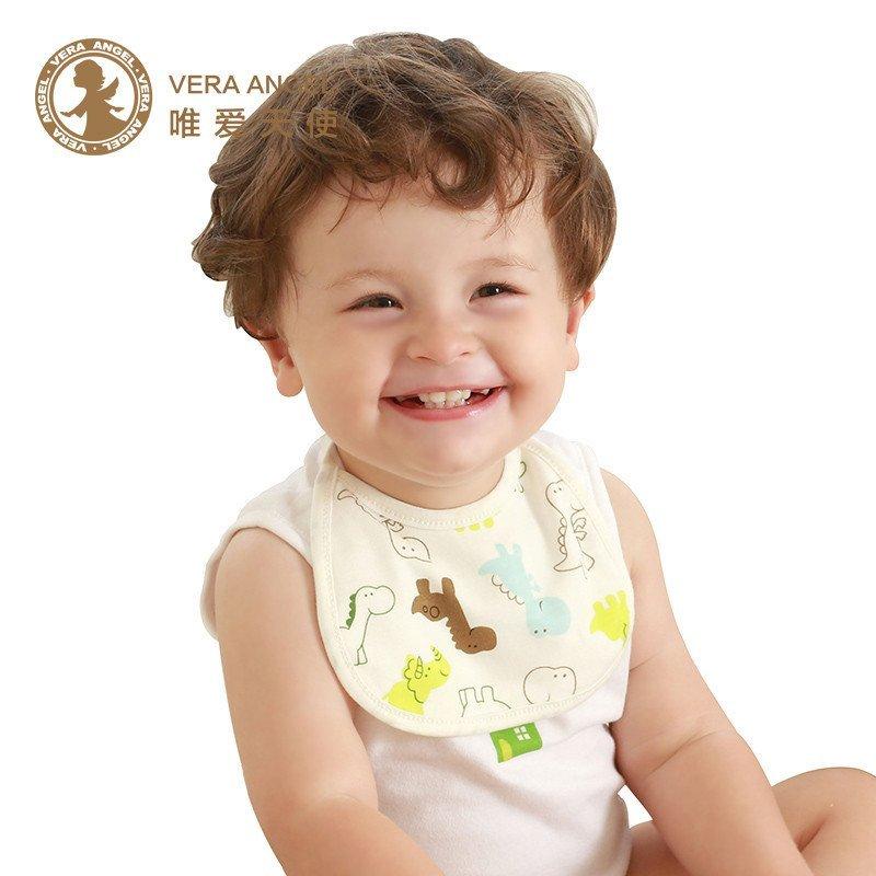 唯爱天使 婴幼儿口水巾婴儿围嘴宝宝口水巾宝宝围嘴纯棉新生儿用品