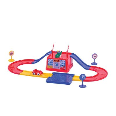 瑞典维京唯精多功能游戏桶 飞机场汽车跑道模拟场景儿童益智玩具 宝宝
