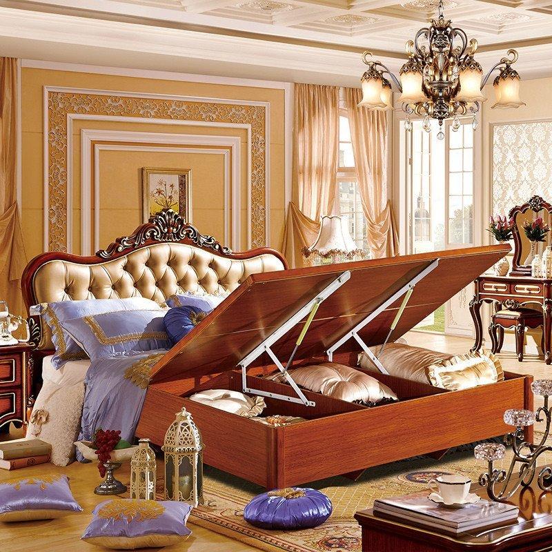 欧式新古典双人床