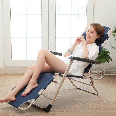 艾格调躺椅折叠午休折叠床单人午睡床办公室午休椅简易床行军床303