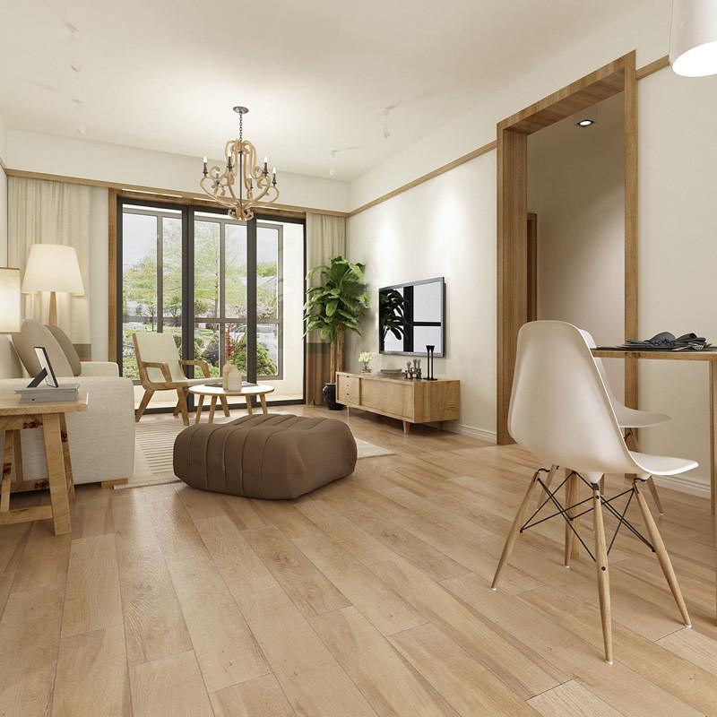 卧室客厅阳台仿木纹砖地板砖